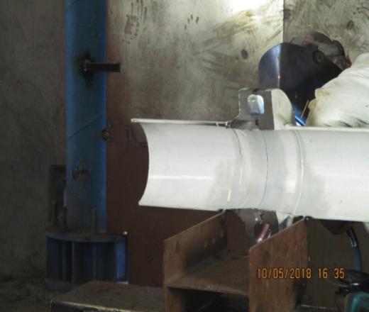 Sistema de soldadura con Flange SIDGMAN®.